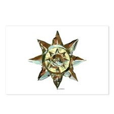 Brass Sun Postcards (Package of 8)