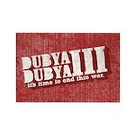 End Dubya Dubya III Rectangle Magnet (100 pack)