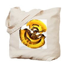 Gold Burst Tote Bag