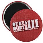 End Dubya Dubya III Magnet