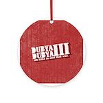 End Dubya Dubya III Ornament (Round)