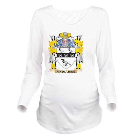 Nikolajsen Coat of Arms - Family Crest T-Shirt