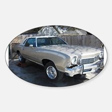 73 Monte Carlo Oval Decal
