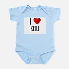 I LOVE KAYLIN Infant Creeper