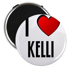 """I LOVE KAYLIN 2.25"""" Magnet (100 pack)"""