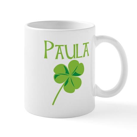 Paula shamrock Mug