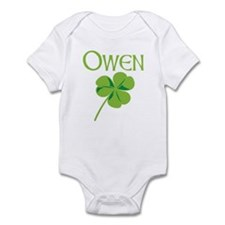 Owen shamrock Infant Bodysuit