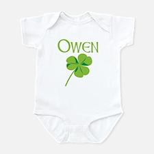 Owen shamrock Infant Bodysuit