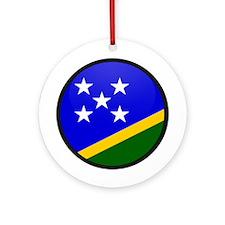 Solomon Islands Ornament (Round)