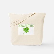 Samantha shamrock Tote Bag