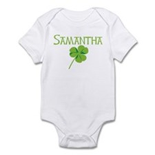 Samantha shamrock Infant Bodysuit