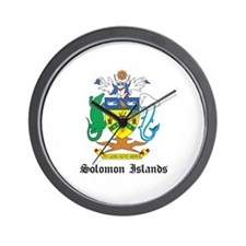 Solomon Coat of Arms Seal Wall Clock