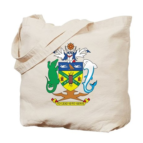 Solomon Islands Coat of Ar Tote Bag