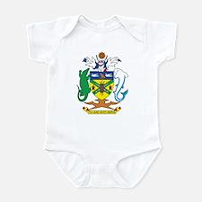 Solomon Islands Coat of Ar Infant Bodysuit