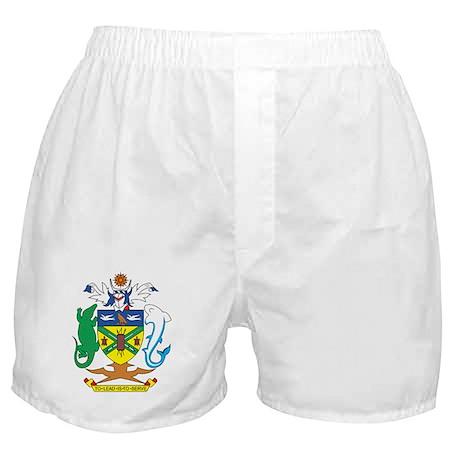 Solomon Islands Coat of Ar Boxer Shorts