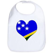 I Love Solomon Islands Bib
