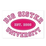 Big Sister University Postcards (Package of 8)