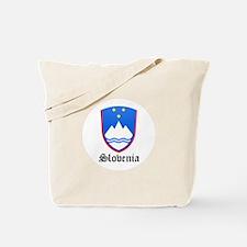 Slovene Coat of Arms Seal Tote Bag
