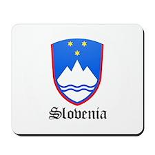 Slovene Coat of Arms Seal Mousepad