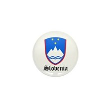 Slovene Coat of Arms Seal Mini Button (10 pack)