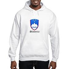 Slovene Coat of Arms Seal Hoodie