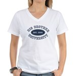 Big Brother University Women's V-Neck T-Shirt