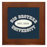 Big Brother University Framed Tile