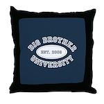 Big Brother University Throw Pillow