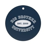 Big Brother University Ornament (Round)