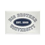 Big Brother University Rectangle Magnet