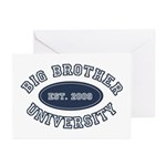 Big Brother University Greeting Cards (Pk of 10)
