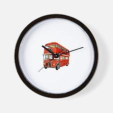 Cute Bus Wall Clock