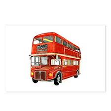 Cute Bus Postcards (Package of 8)