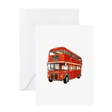 bus Greeting Cards