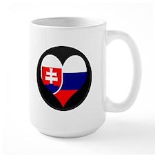 I love Slovakia Flag Mug