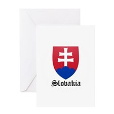 Slovak Coat of Arms Seal Greeting Card