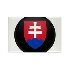 Coat of Arms of Slovakia Rectangle Magnet
