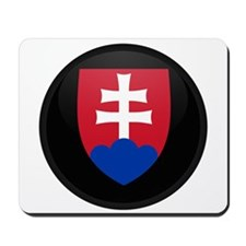 Coat of Arms of Slovakia Mousepad
