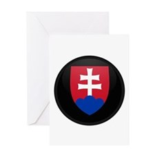 Coat of Arms of Slovakia Greeting Card