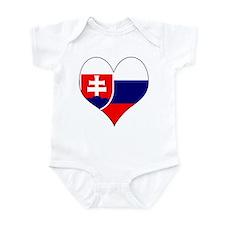 I Love Slovakia Infant Bodysuit