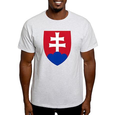 Slovakia Coat of Arms Light T-Shirt