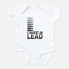 I Invest In Lead Infant Bodysuit
