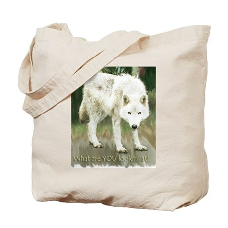 What Are You Lookin' At? Tote Bag