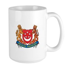 Singaporean Coat of Arms Seal Mug