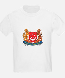 Singaporean Coat of Arms Seal T-Shirt