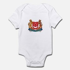 Singaporean Coat of Arms Seal Infant Bodysuit