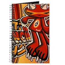 Demon Mascot Tag Journal