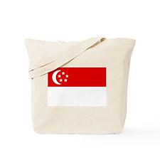 SINGAPORE Flag Tote Bag