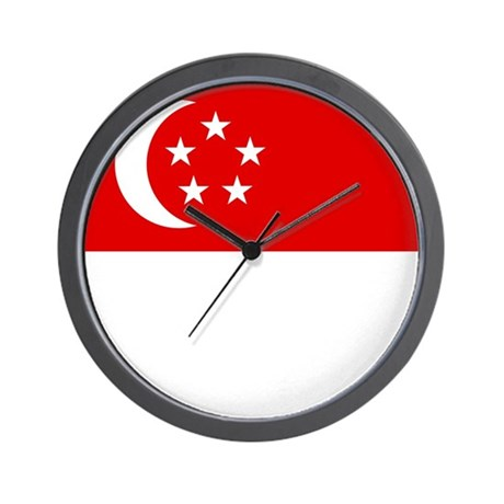 Singaporean Wall Clock