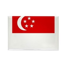 Singaporean Rectangle Magnet